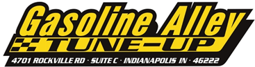 Gasoline Alley TUNE-UP, Logo